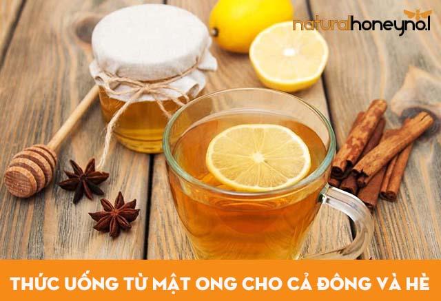 Mật ong mang đến nhiều đồ uống ngon, khỏe cho cả mùa đông và mùa hè