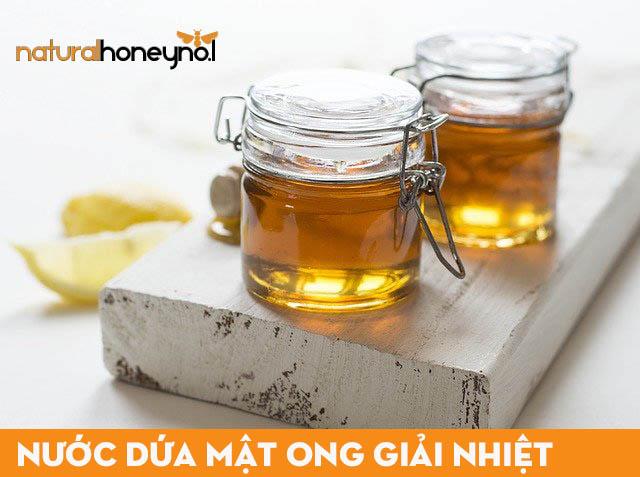 Nước dứa mật ong sẽ đảm bảo được hương vị khi mật ong là nguyên chất