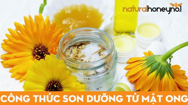 Son dưỡng từ mật ong thành phẩm