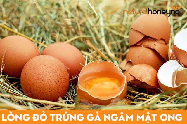 lòng đỏ trứng gà ngâm mật ong chứa nhiều dưỡng chất tốt cho sức khỏe và hỗ trợ đẹp da