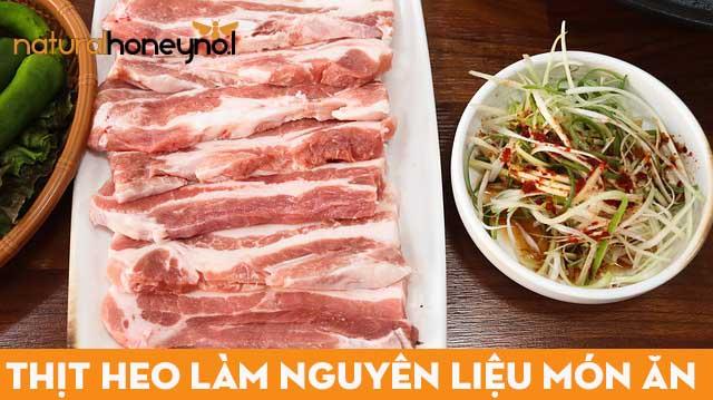Lựa chọn thịt heo sạch, tươi ngon, nên mua phần thịt ba chỉ để nướng