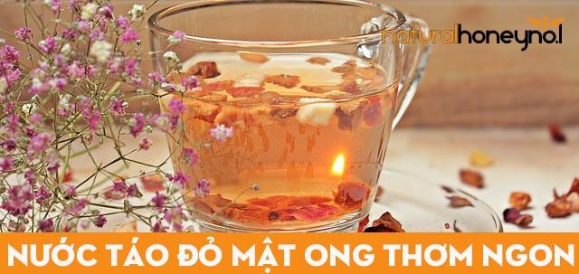 Công dụng của nước táo đỏ mật ong