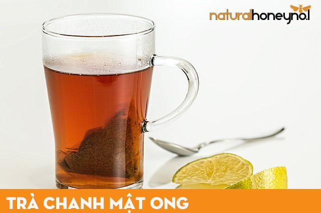 trà chanh mật ong tốt cho sức khỏe