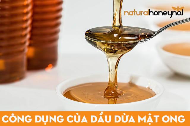 Dầu dừa kết hợp với mật ong mang lại nhiều lợi ích tốt cho sức khỏe và làm đẹp