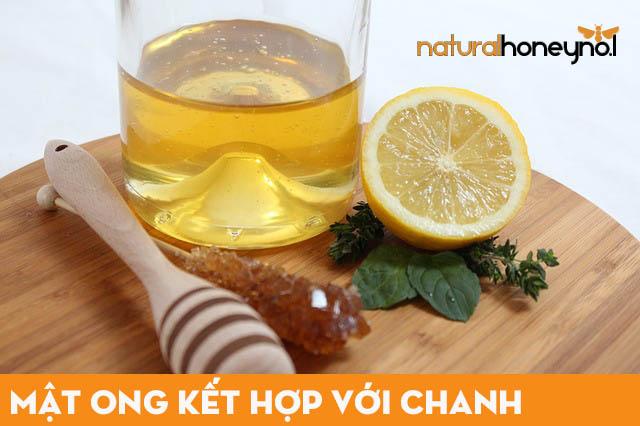 Sử dụng chanh tươi với mật ong nguyên chất để chăm sóc da mặt