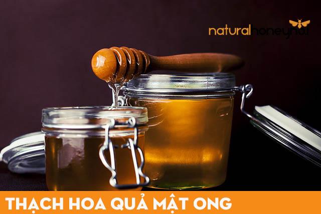 Thạch hoa quả mật ong với nguyên liệu mật ong