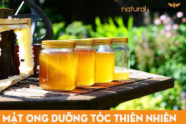 mật ong thiên nhiên dưỡng tóc hiệu quả
