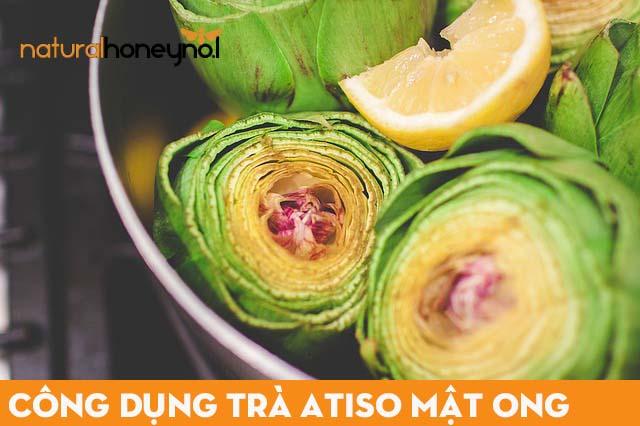 Công dụng trà atiso mật ong trong việc chăm sóc lá gan